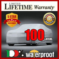 Fiat 124 Spider 1968-1983 Car Cover - 100% Waterproof Breathable Uv Protection