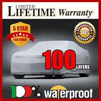 Mercedes 380se 380sel 1981-1985 Car Cover - 100% Waterproof 100% Breathable
