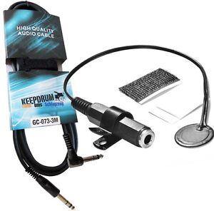 Details about Drum DIAL Drum Trigger clip mount + keepdrum Trigger cable 9  10/12ft GC73
