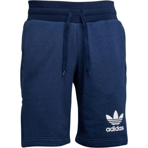 Da Uomo Adidas Originals Logo Trifoglio Pantaloncini 3 strisce 3 Colori Taglie S-XL