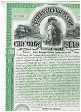 Cleveland, Cincinnati, Chicago and St. Louis Rwy. Co., 1893, grün
