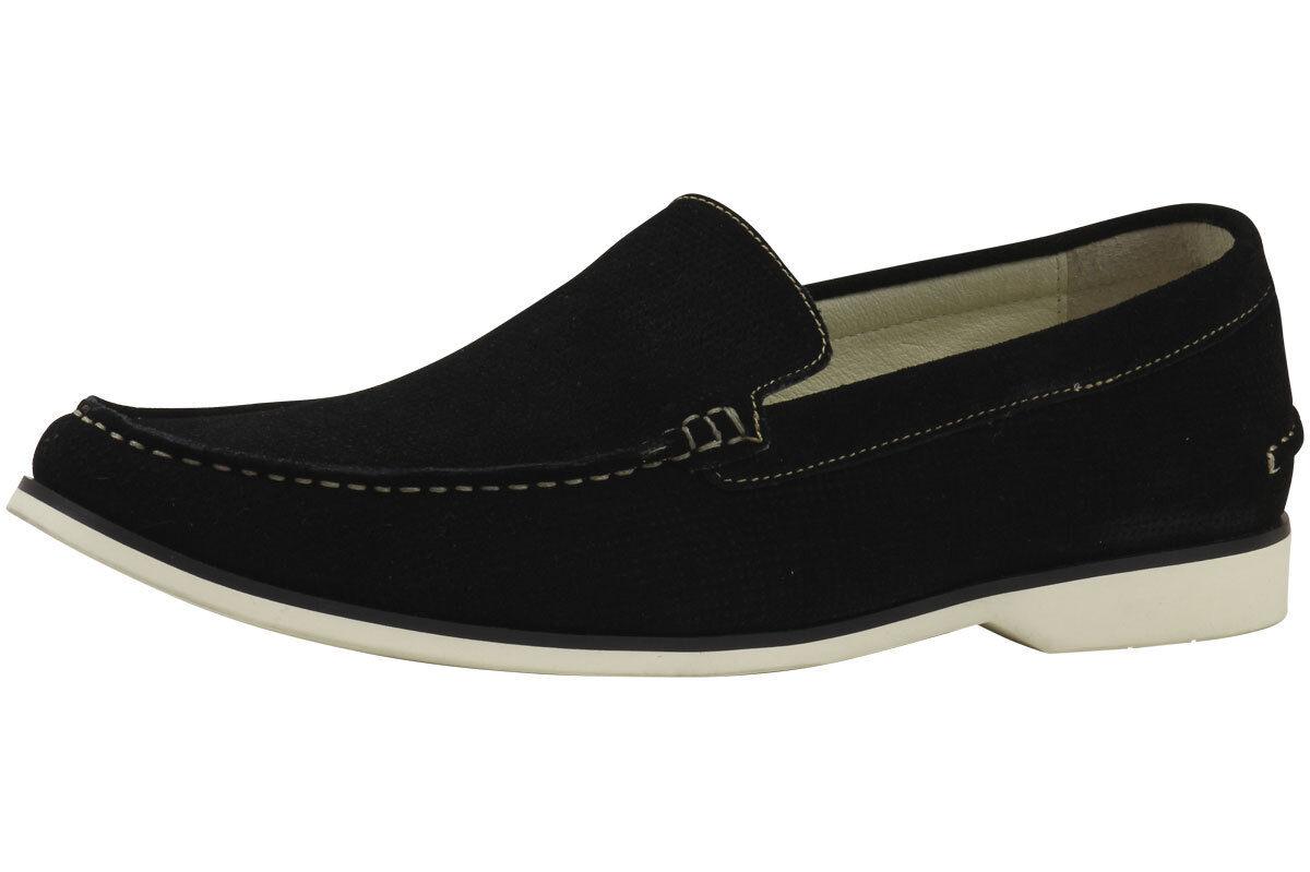 Kenneth Cole Men's Fashion Slip-On Santa Barb-Ra Black Loafer shoes Sz. 11