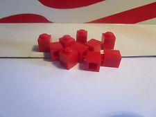 Lego HARRY POTTER, CITY RED (10) SMALL 1x1 BRICKS FOR HOGWARTS EXPRESS SET 4708