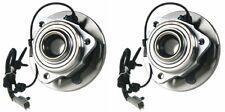 2 NEW Front Wheel Hub Bearing Assembly PAIR 2005-2010 GRAND CHEROKEE & COMMANDER