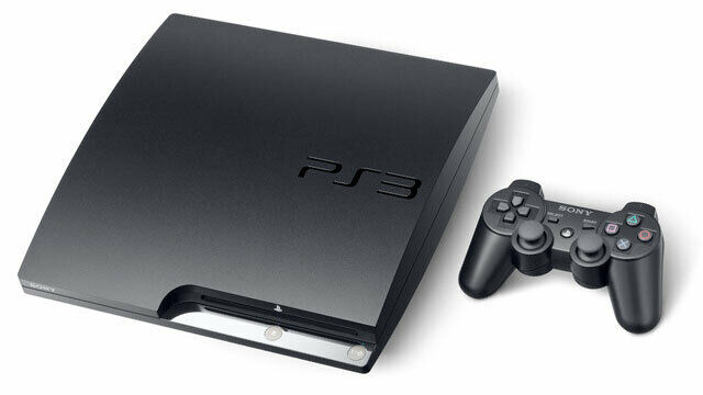 Sony PS3 PlayStation 3 Slim Edition 160GB Charcoal Black PS3 Console...