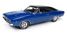 1968 Dodge Charger Hardtop Christine blau in 1:18 Auto World ERTL AWSS111 blue