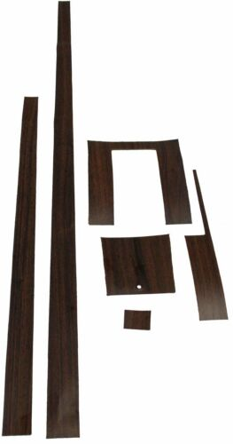 VINYL 6 PIECES 1965-1966 FORD MUSTANG CENTER CONSOLE WOODGRAIN KIT