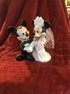 Disney Parks Mickey and Minnie Mouse Wedding Bride Groom ...