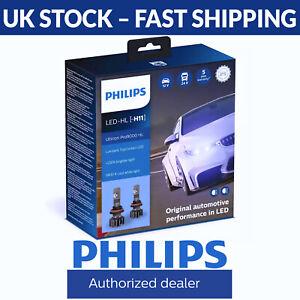Philips Ultinon Pro9000 LED Pro 9000 5800K Car Headlight Bulbs H11 (Twin Pack)