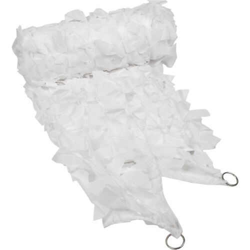3X2M MILITAIRE CHASSE CAMO CAMOUFLAGE FILET NET TIR AIRSOFT NEIGE BLANC