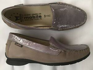 Mephisto-mobils-shoes-moccasin-new-grey-37-5