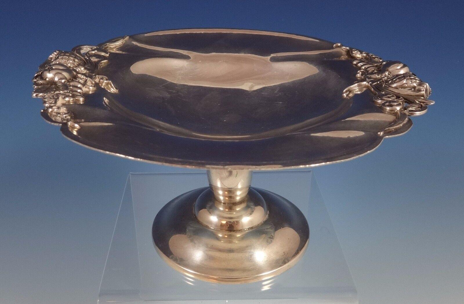 Watson Argent Sterling Arts et Artisanat Compote V35 19.1cm Diamètre (0859)