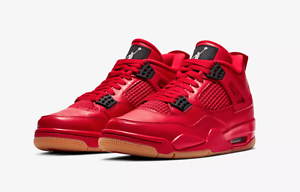 new product f7018 d4933 Details about Nike Air Jordan 4 Retro Fire Red Singles Day AV3914-600  Women's Shoes Size 13.5