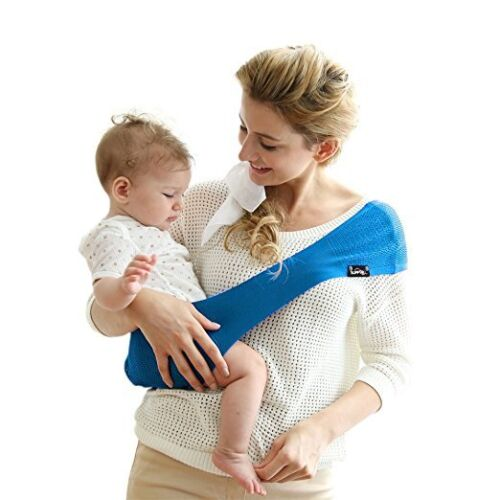 F Suppori Baby Light Weight Carrier Sling Infant//Toddler Electric Blue Large