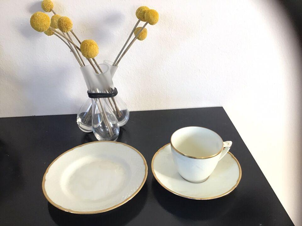 Porcelæn, Kaffekop og kagetallerkener, Bing og Grøndahl -