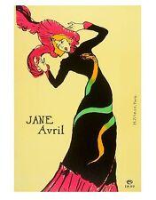H. Stern Jane Avril Poster Kunstdruck Bild 72x57cm - Kostenloser Versand