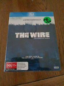 The-wire-the-complete-series-Blu-ray-brand-new-sealed-box-set