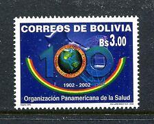 Bolivia 1195, MNH.2002, Panamerican health org. 1v. x27692