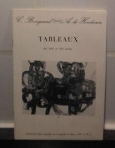 Catalogue Vendita 1979 Drouot Rive Gauche Lavagna XIX & Xxecommissaires Periti