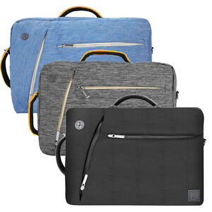 "3 in1 VanGoddy Laptop Backpack Messenger Bag Briefcase For 15.6"" Dell HP Lenovo"