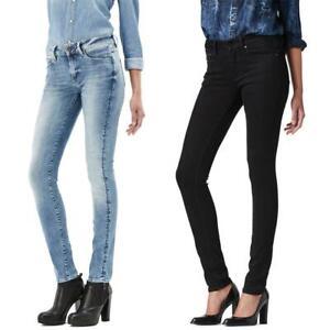 G-Star-3301-Contour-High-Waist-Skinny-Damen-Jeans-Hose-Jeanshose-Roehrenjeans