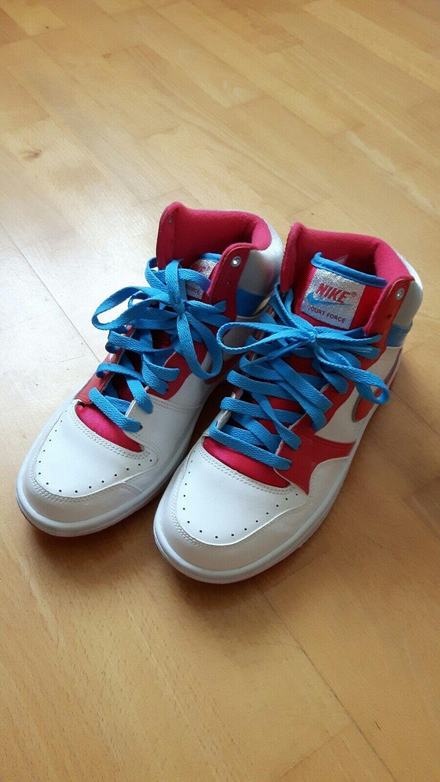 Nike Wmns Court Force Hi Pink US cm  9.5 41 26.5 cm US Jordan Lebron Kobe b76e9f