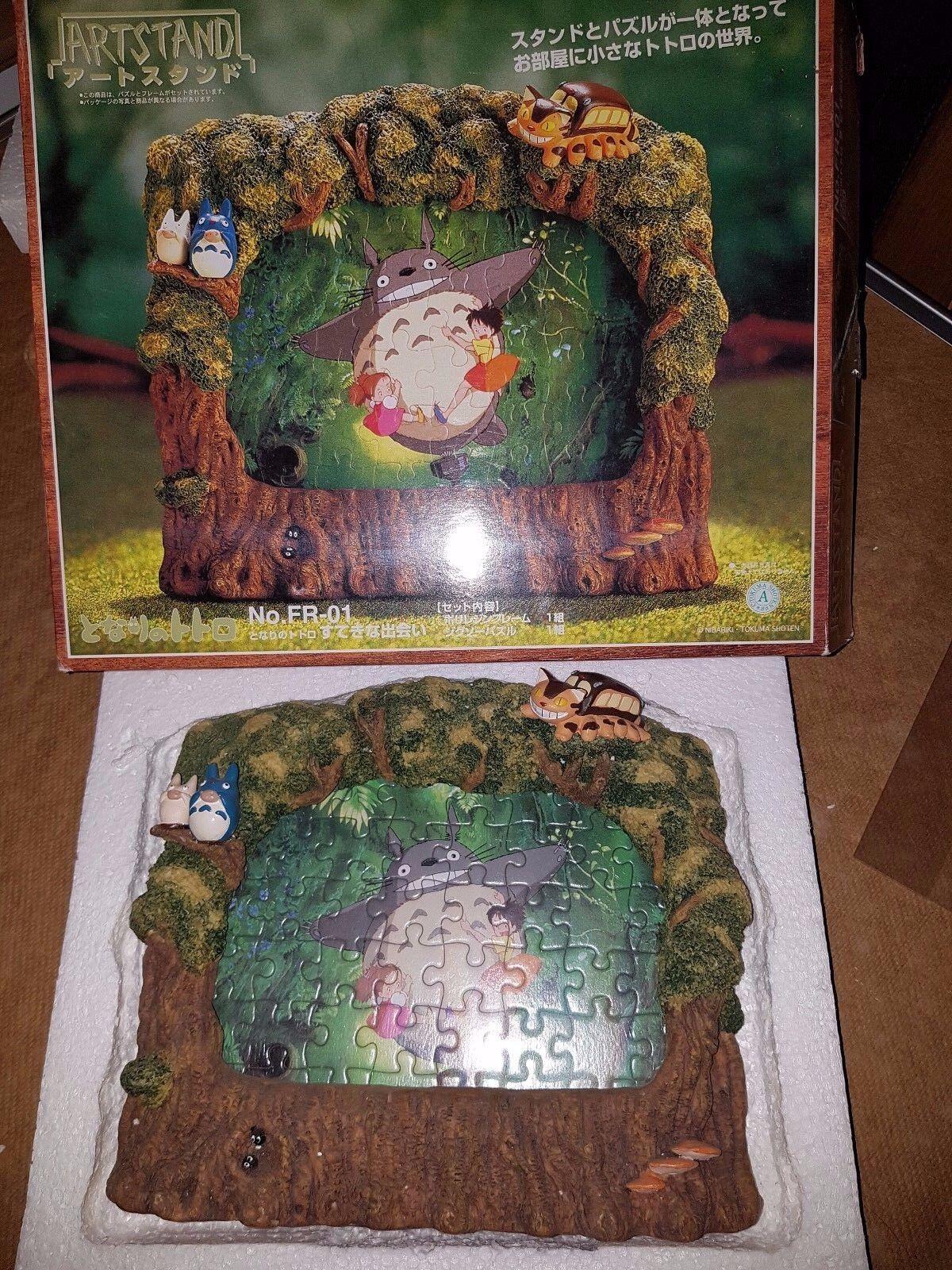 Ghibli Totoro Voisin neighbor Miyazaki figure art stand Mononoke Ponyo