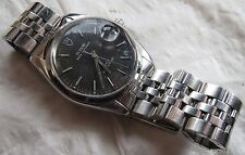 Tudor Prince Oysterdate automatic mens wristwatch steel case & bracelet