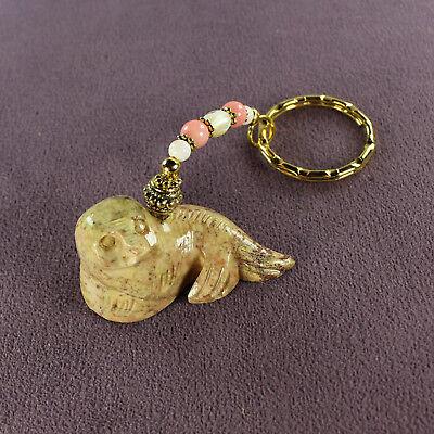 3D SEAL TOTEM CHARM Amulet Talisman Marine Animal Magick Fish Symbol Sign Blue