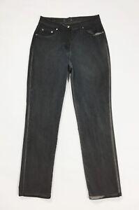 Baroni-jeans-pantalone-donna-usato-w30-tg-44-vita-alta-mom-hot-boyfriend-T563