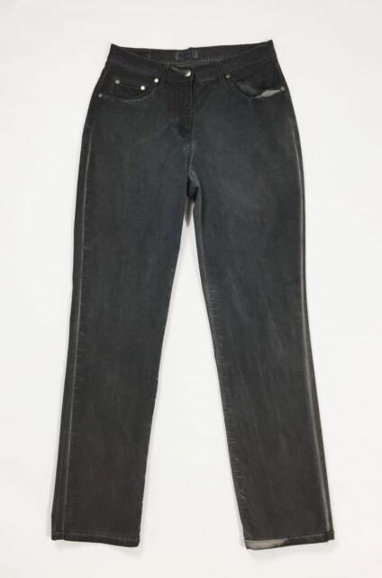 Baroni jeans pantalone donna usato w30 tg 44 vita alta mom hot boyfriend T563