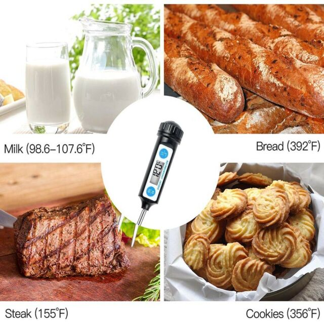 Electronic Digital Thermometer Cooking Tool Kitchen Cooking BBQ Food Thermometer
