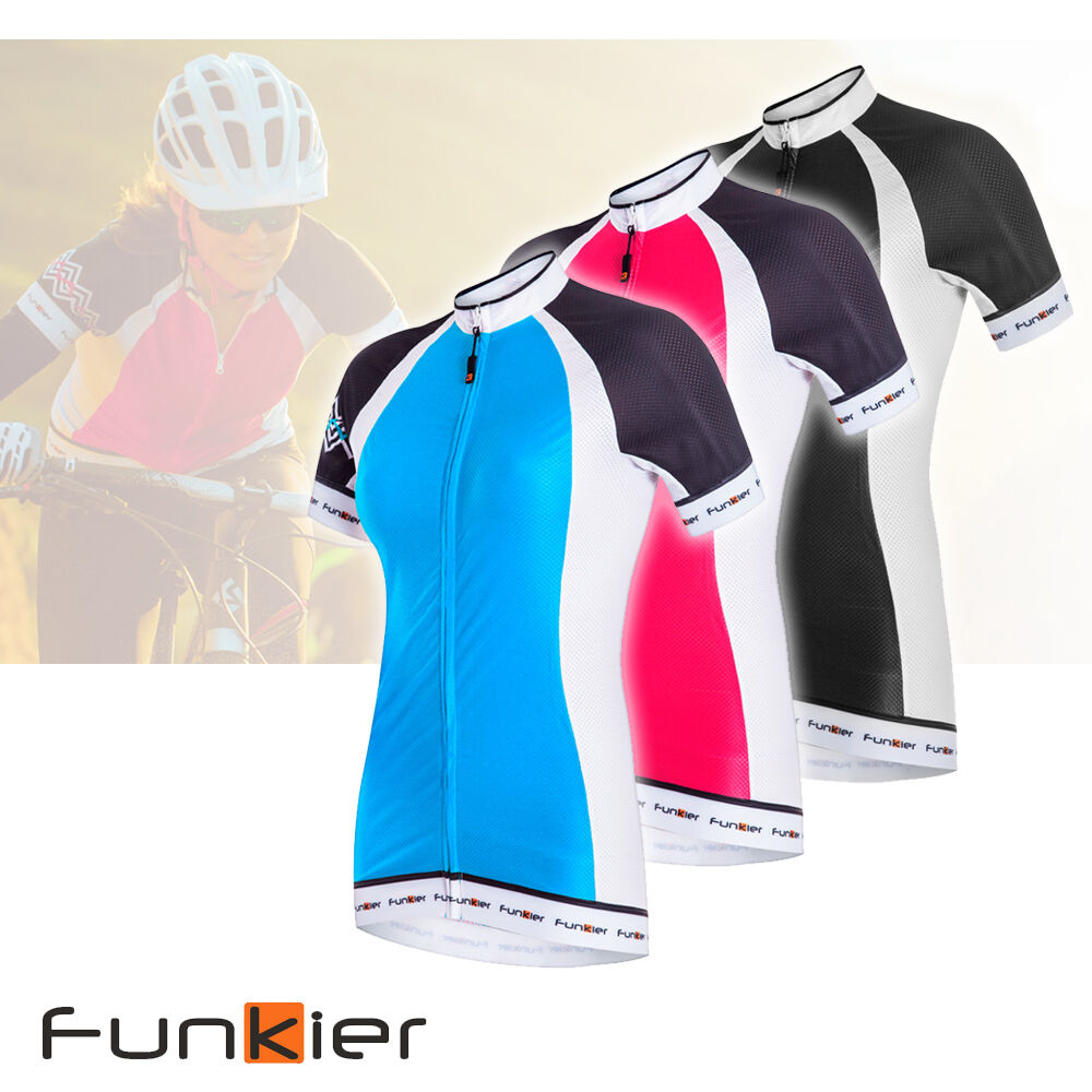 Funkier Women's Cycling  Lightweight Jersey Short Sleeve WJ-786 New Summer Fabric  wholesale price and reliable quality