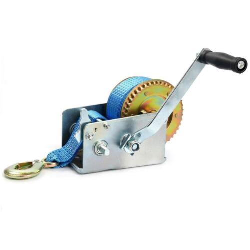 2 Gear Main Treuil manivelle Gear Outil Ajustement Heavy Duty ATV Remorque Bateau 2500 LB environ 1133.98 kg