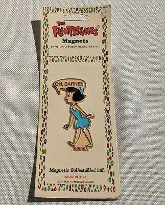 THE FLINTSTONES Hanna Barbera 1992 FRIDGE MAGNET Fred Flintstone SEALED VTG