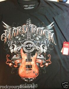 Hard-Rock-Cafe-ORLANDO-Textured-Guitar-Tee-T-Shirt-Mens-All-Sizes-2X-New-w-Tags