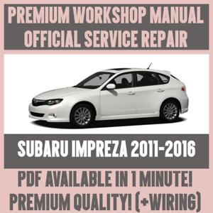 WIRING *WORKSHOP MANUAL SERVICE /& REPAIR GUIDE for SUBARU FORESTER 2008-2013