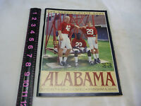 Vtg 1989 Alabama vs Memphis State Football Program Legion Field Birmingham