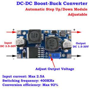 DC-DC-3-3v-5v-6v-9v-12v-24v-Adjustable-Voltage-Converter-Boost-Buck-Step-Up-Down