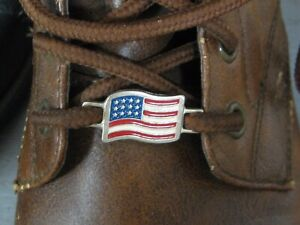 2 USA American Flag Boot Lace Shoelace