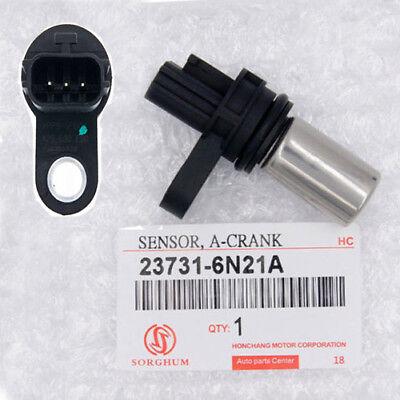 2pcs Camshaft Crankshaft Position Sensor Fit 02-06 NISSAN ALTIMA 2.5L 237316N21A