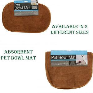 Mat Absorbent Pet Rebellion Slip Dog Dinner Door Food Bowl