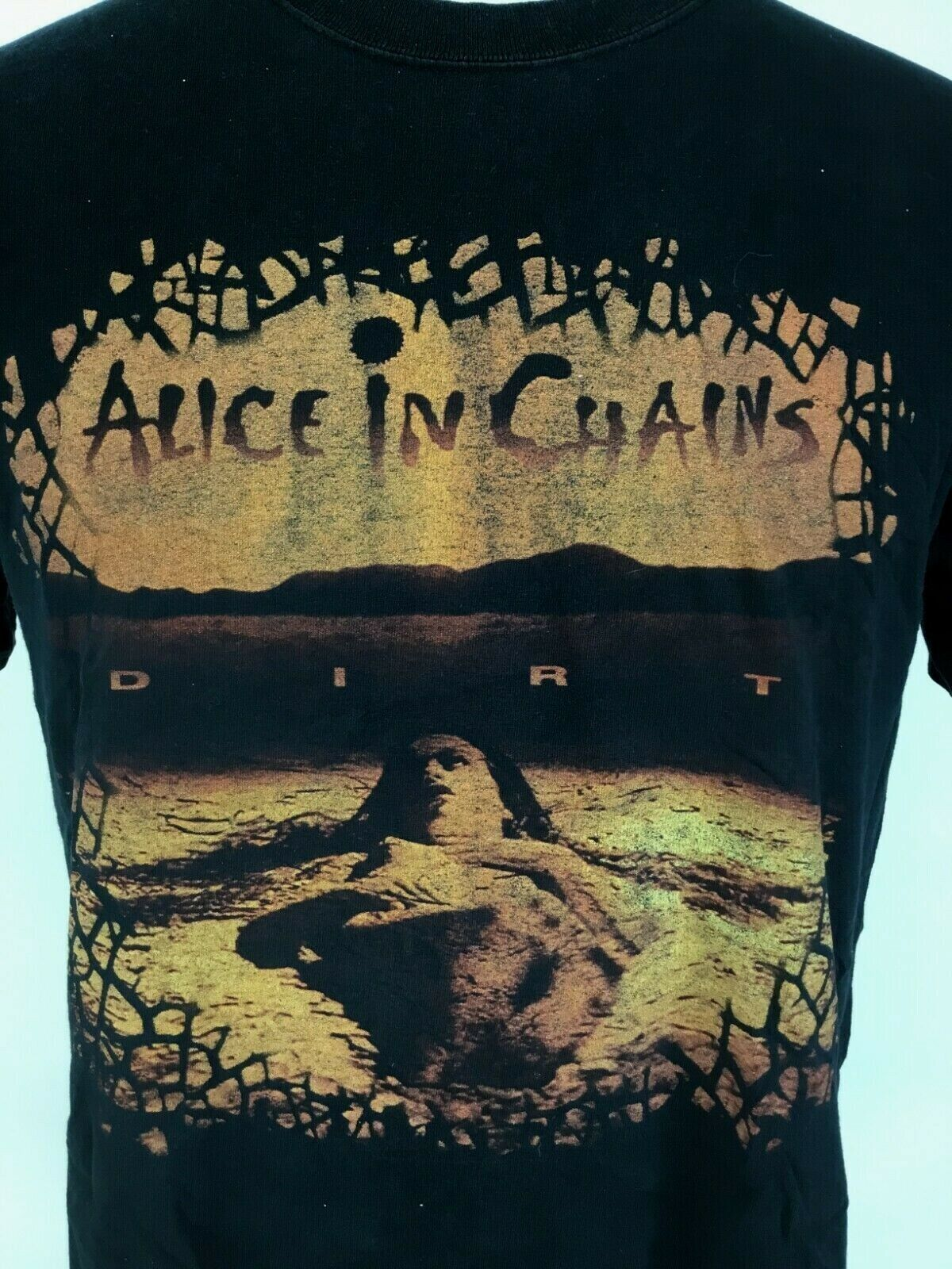 Vintage Alice in Chains DIRT Band Anvil T Shirt B… - image 1
