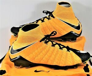 pick up 523ed f98c7 Details about Nike Hypervenom Phantom III DF FG Flyknit ACC Soccer Cleats  Sz 11 NEW 860643 801