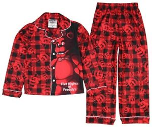 Five Nights At Freddy/'s 2-pc Summer Pajamas Set Size M-8  L-10-12   XL-14-16 NWT