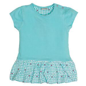 Salt and Pepper Mädchen Baby - Shirt Kleid mit Punkten ...