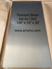 Titanium Sheet 6al 4v 100 X 12 X 36