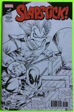 DEADPOOL Back in Black #1 1:50 Rob Liefeld Variant Cover Marvel NM 2016