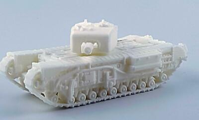 1//100TH SCALE 3D PRINTED WW II JAPANESE TYPE 4 HO-RO SELF-PROPELLED 155 MM GUN
