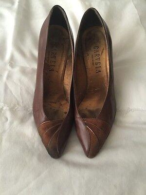 Señoras Marrón Tribunal Zapatos